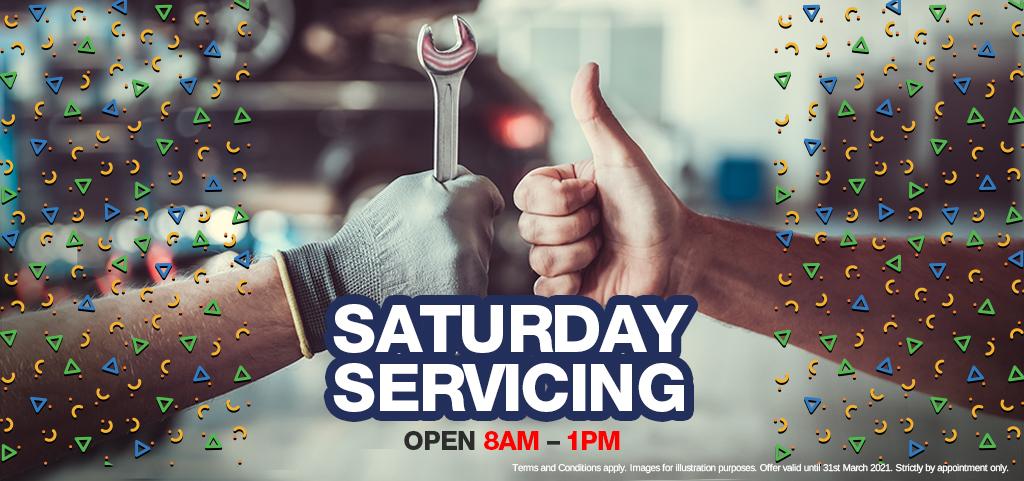 Saturday Service Booking