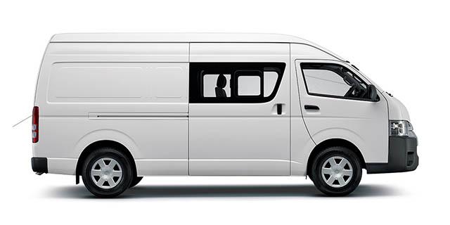 Quantum 2 7P Panel Van | Eastvaal Motors Secunda Ford