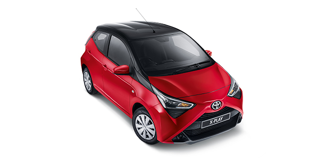 Passenger Aygo X-play Black