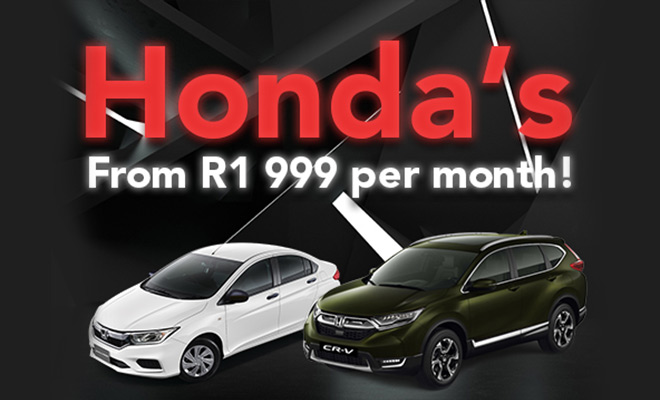 hondas-from-r1999-per-month