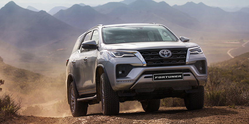 SUV Fortuner 2.8 GD-6 4x4 6MT