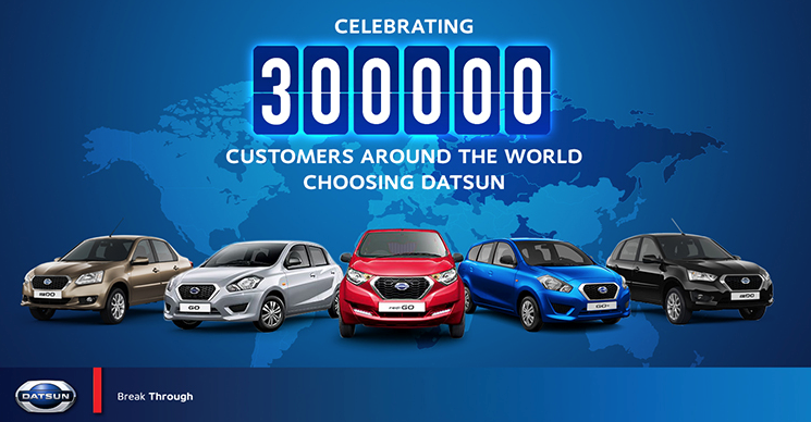 300 000 Cars Sold