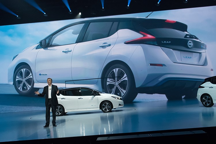 New Nissan Leaf – New Standard in Intelligent Mobility
