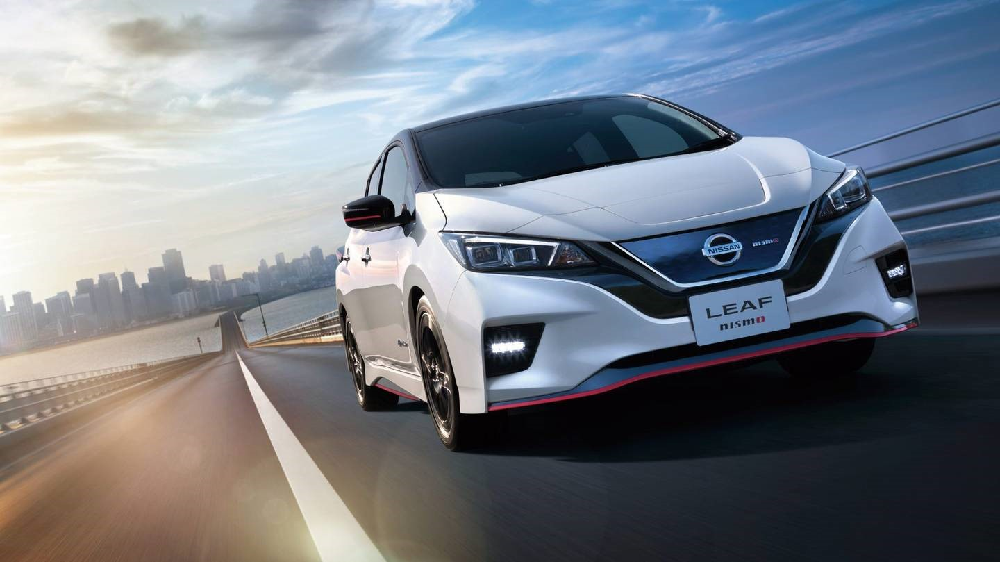 Nissan LEAF NISMO to Make World Debut