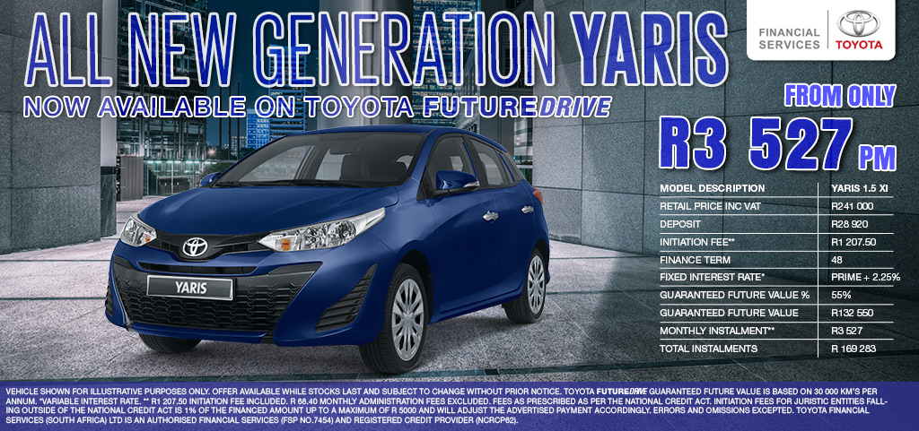 All New Generation Yaris   Now Available On Toyota Futuredrive