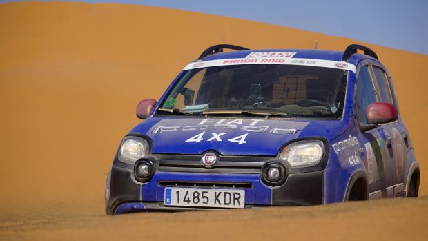 Fiat Panda Cross becomes Champion of the Desert at Panda Raid 2019