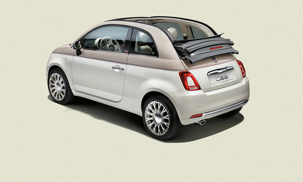 Fiat 500 60th anniversary Rear