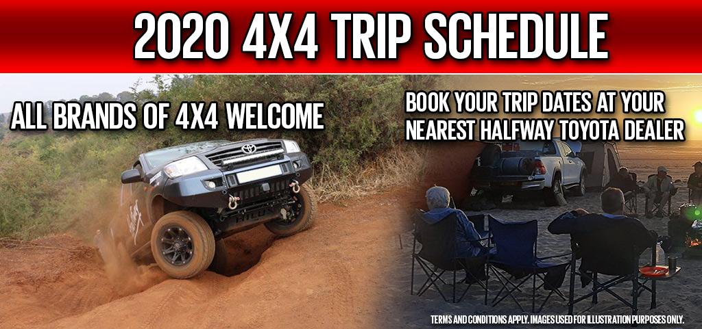 2020 4x4 Trips By Halfway Toyota