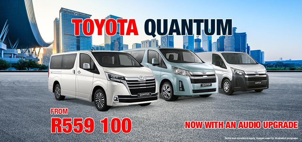 Toyota Quantum With Audio Upgrade