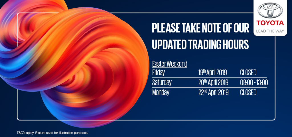 Updated Trading Hours Scottburgh