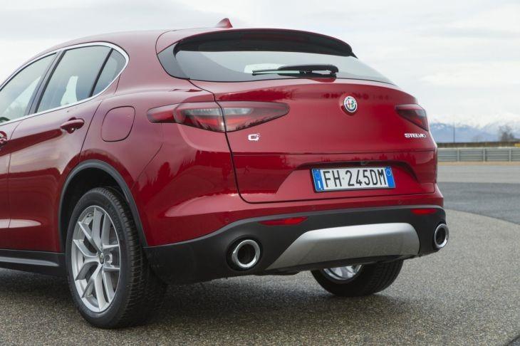 Alfa Romeo Stelvio Rear