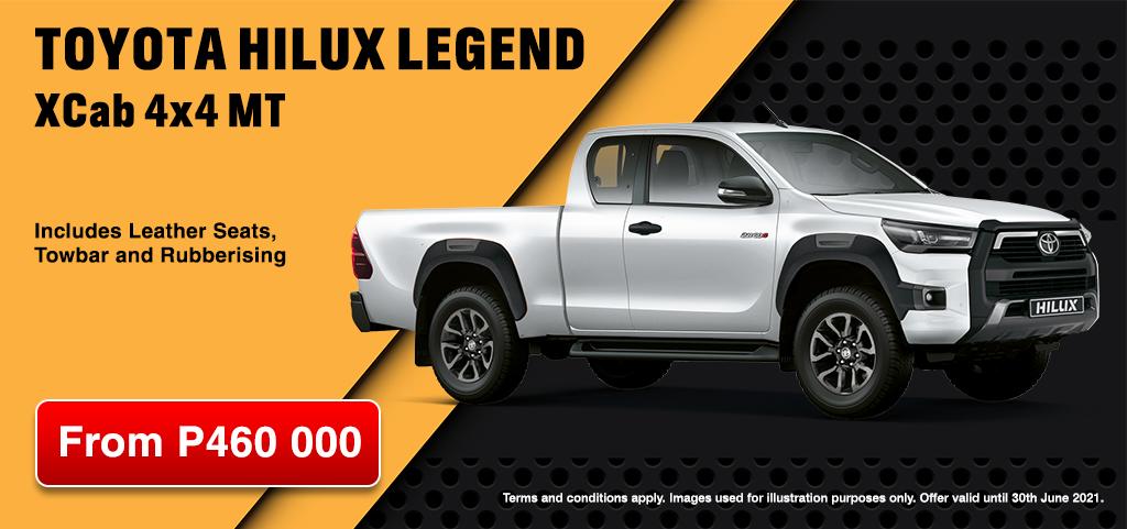 Toyota Hilux Legend Xcab 4x4 Mt