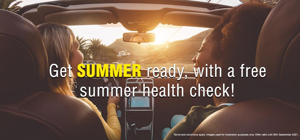 Summer Health Check