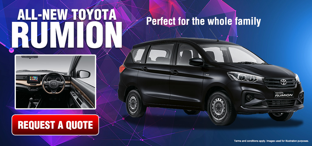 All New Toyota Rumion