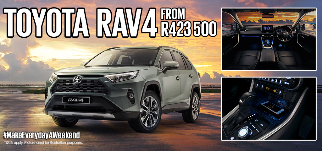 Toyota Rav4 From R423 500