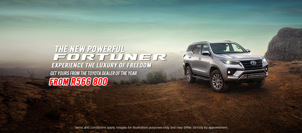 The New More Powerful Fortuner