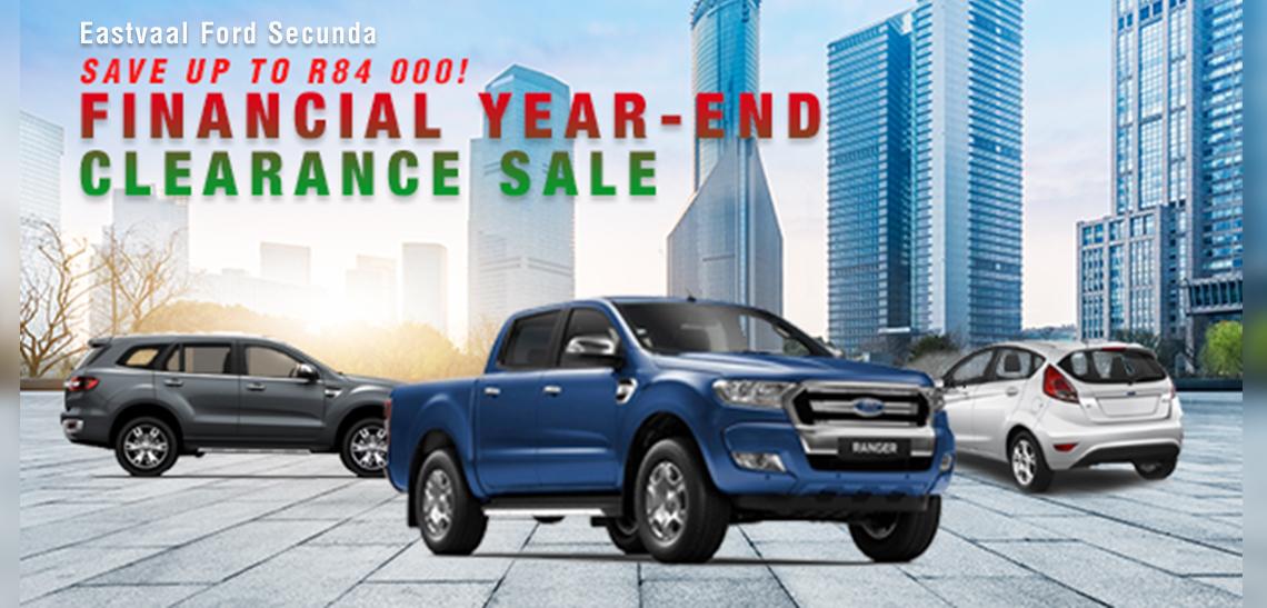 Eastvaal Motors | Financial Year end Clearance sale