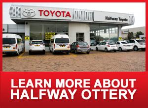 Toyota Cars, Bakkies, SUVs & Hybrids | Halfway Toyota Ottery