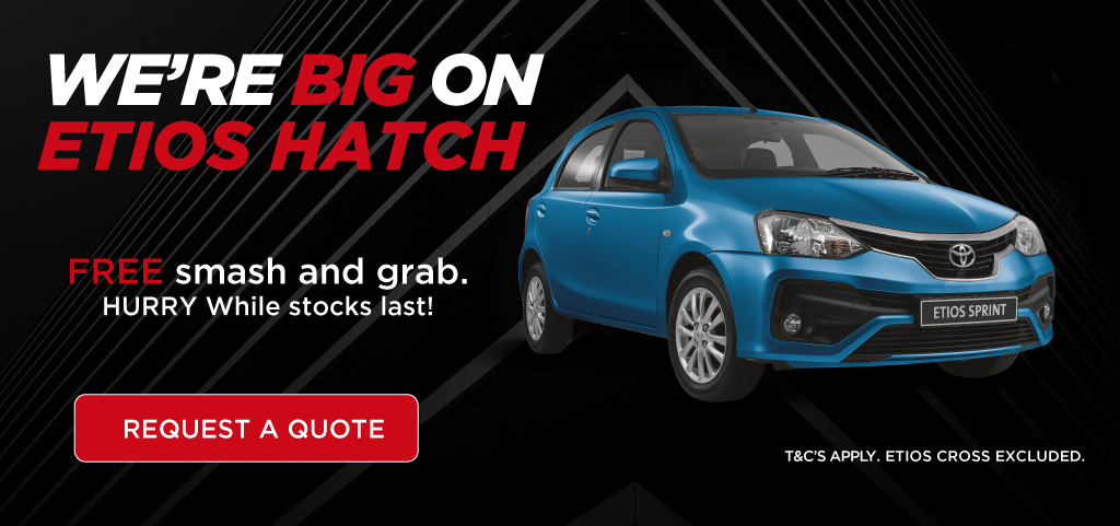 Toyota Etios Save Big