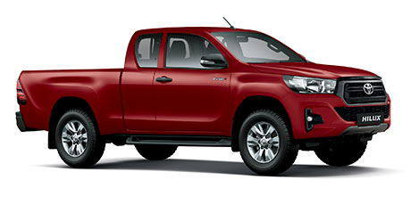 Commercial Hilux XC 2.4 GD-6 RB SRX 6AT (New)