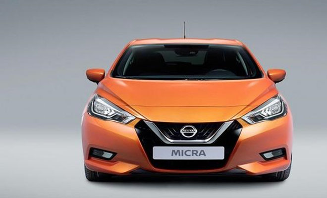 2017 Nissan Micra Front Grill Specs