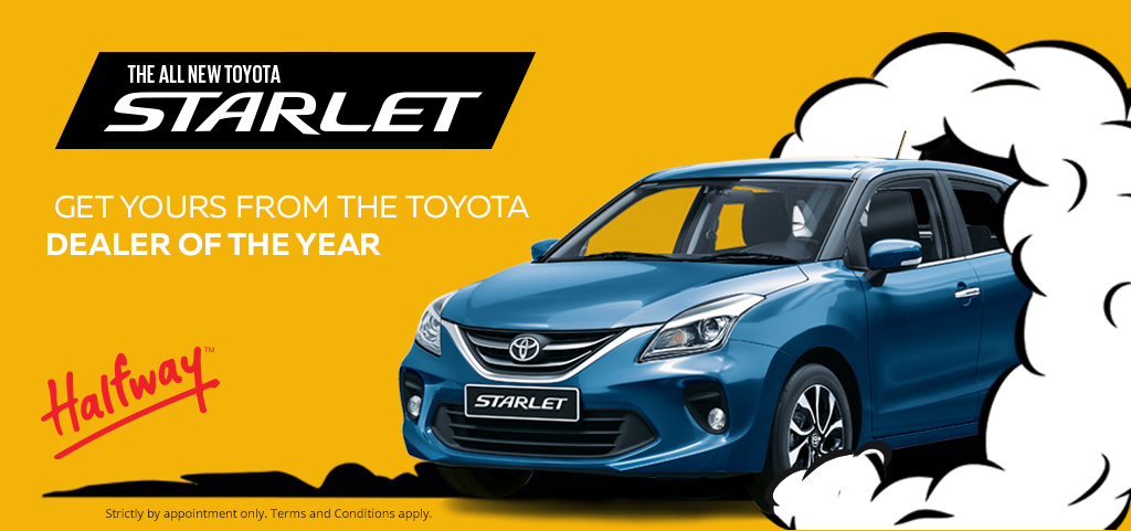Toyota Starlet Big Deal