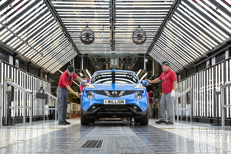 One millionth Juke Built at Nissan Sunderland