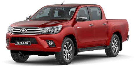 Commercial Hilux (From 16 October 2017 - 12 August 2018) DC 2.4 GD-6 4X4 SRX 6AT