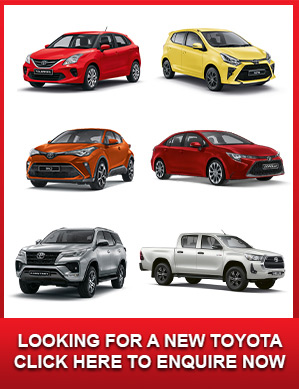 Looking for a new Toyota
