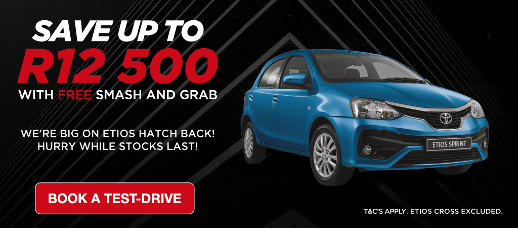 Toyota Etios Save Up To R12 500
