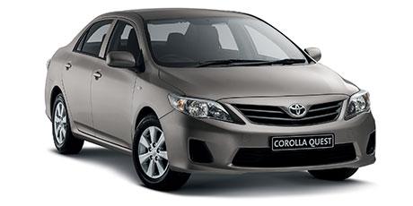Passenger Corolla Quest 1.6 Auto