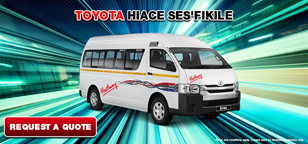 Toyota Hiace Sesfikile Deal