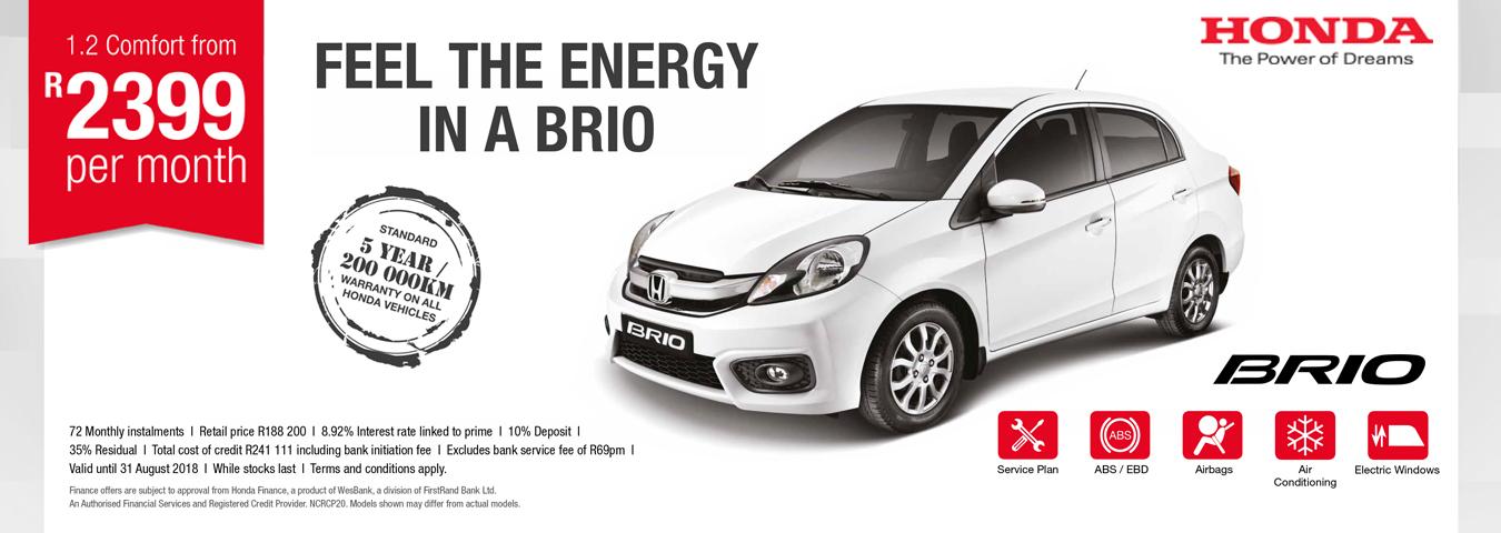 Brio Sedan
