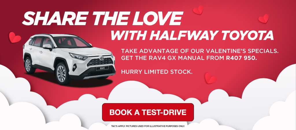 Share The Love With Halfway Toyota   Rav4