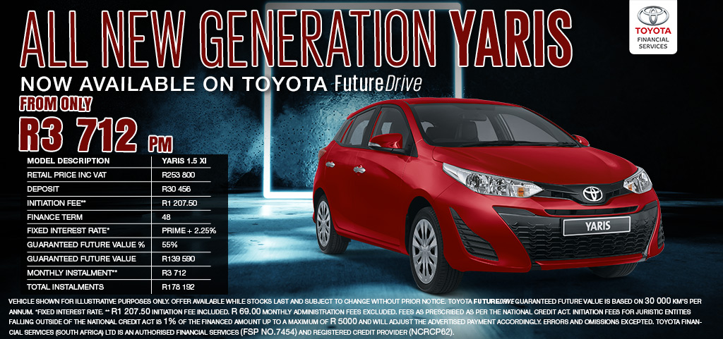 All New Generation Yaris   Now Available On Toyota Future Drive