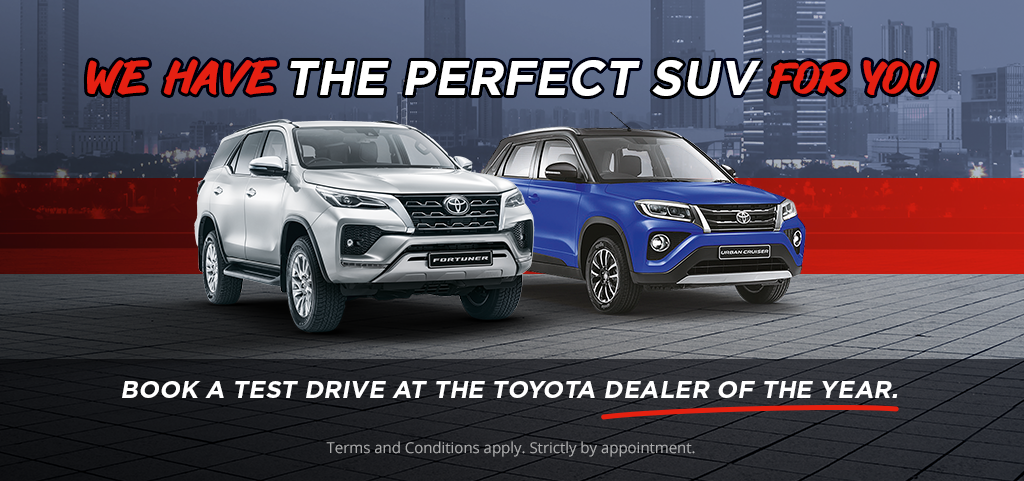 We Have The Perfect Suv For You