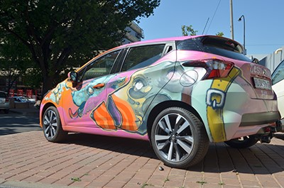Nissan's Radical City Makeover 4
