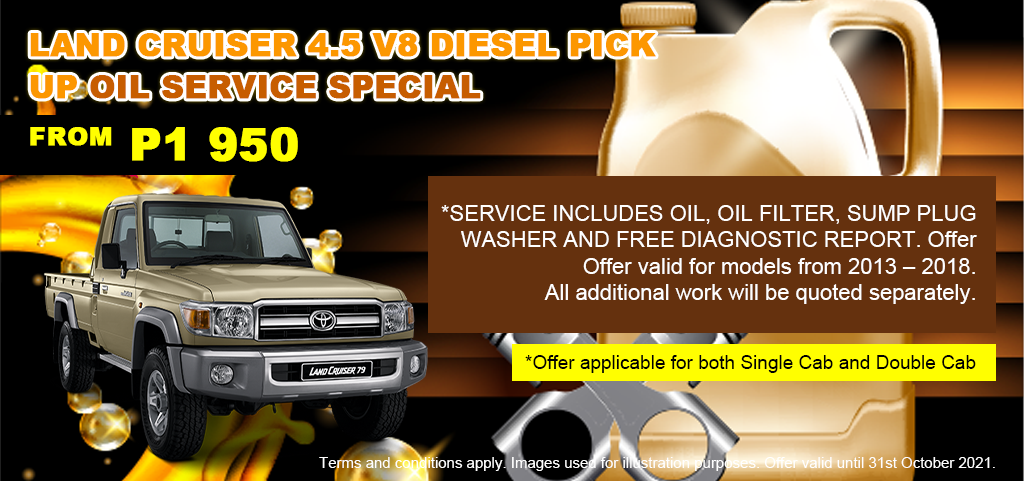 Land Cruiser 45 Oil Service Special