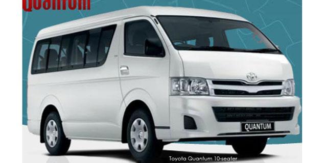 Commercial Quantum 2.7 Petrol 10-s bus
