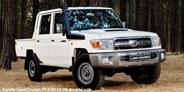 SUV Land Cruiser 79 4.5D D-4D LX V8 D/C