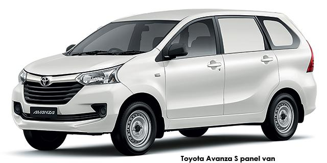 Commercial Avanza 1.3 S Panel Van 5MT