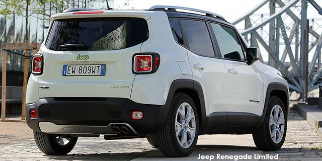 Jeep Renegade 1.4L TJET Limited DDCT