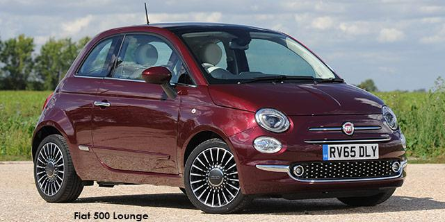 Fiat 500 Twin Air 85HP Lounge