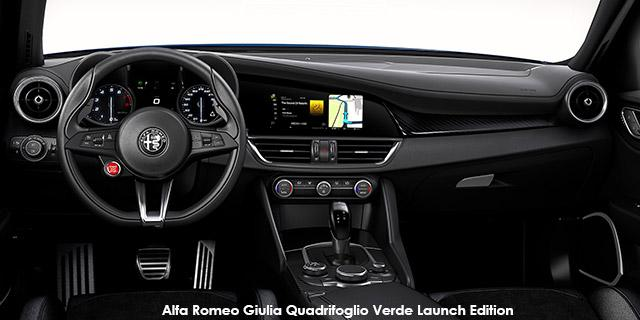 Alfa Romeo Giulia Giulia Quadrifoglio Verde