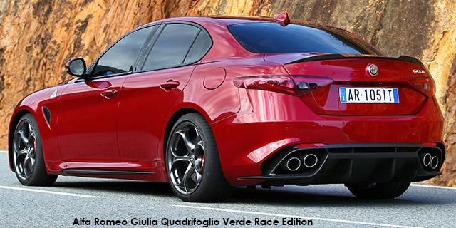 Alfa Romeo Giulia 2.9 V6 QV Rave Edition