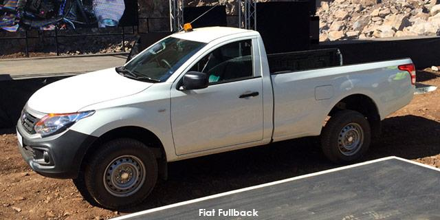 Fiat Fullback Single Cab 2.5 Diesel 4x2 GL