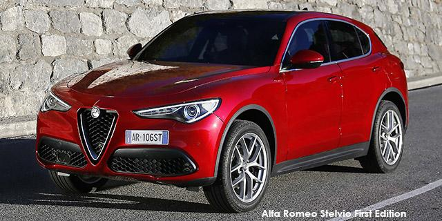 Alfa Romeo Stelvio 2.0T First Edition Q4