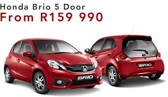 Honda Brio 5 Door From R159 990