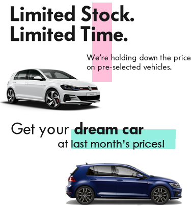 LIMITED STOCK. LIMITED TIME.