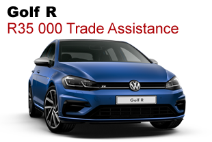 Golf R R35 000 Trade Assistance